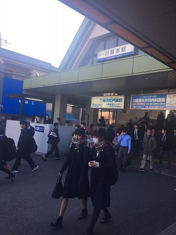 東武東上線 川越市駅からのアクセス①